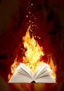 Book Of Magic Fire