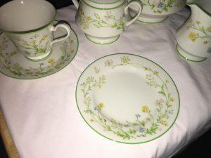 tea set detail